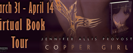 Blog Tour: Copper Girl by Jennifer Allis Provost ~ Spotlight ~ Review ~ Excerpt ~ Giveaway !!! ~ Curse of the Bibliophile