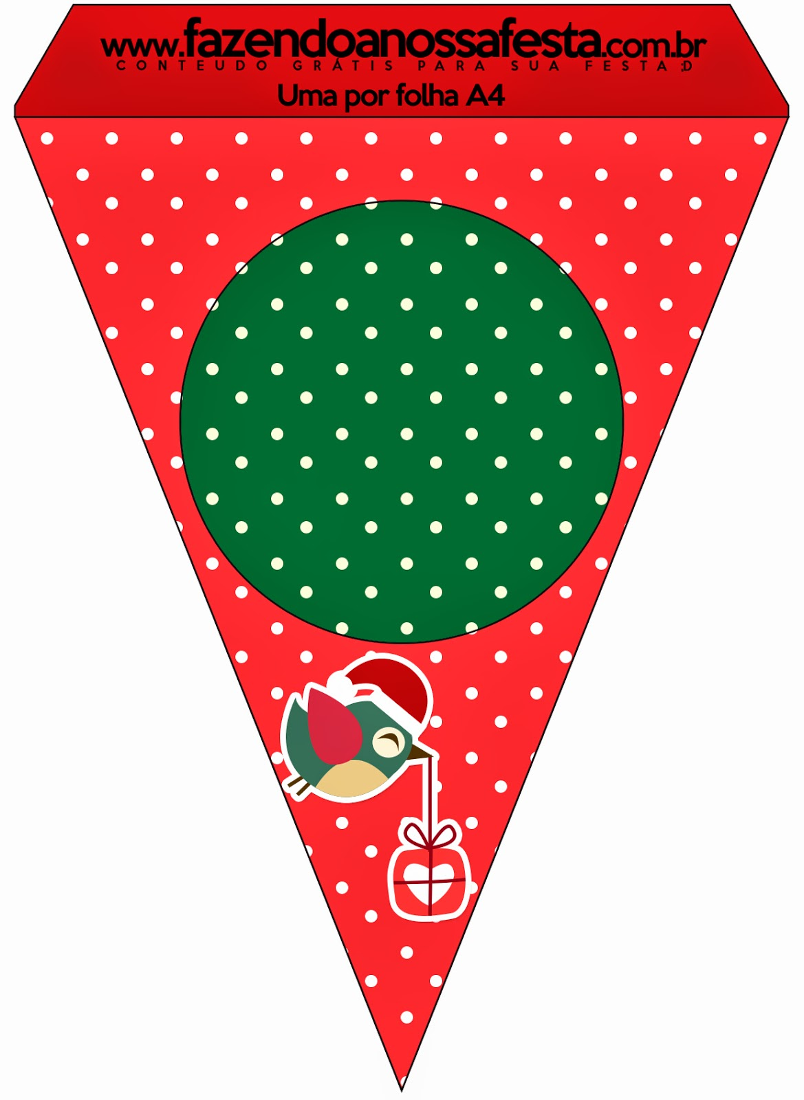 Free Printable For 12 Months Of Pre Planned Date Nights: Christmas Birds: Free Party Printables.