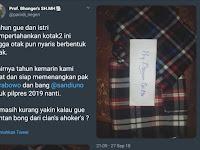 6 Tahun jadi Cebong, Akhirnya Tobat, Siap Menangkan Prabowo-Sandi
