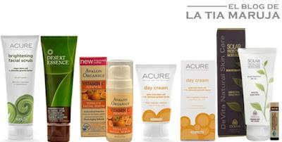Haul de compras iHerb Vitacost cremas naturales