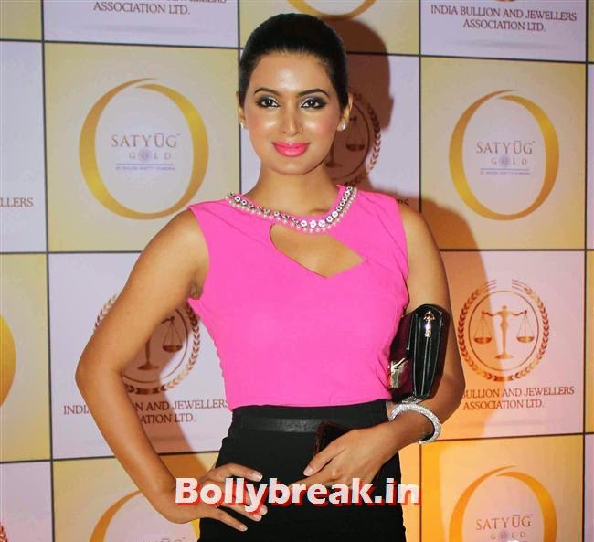 Geeta Basra, Shilpa Shetty, Geeta Basra & Raveena Tandon Sizzle at Satyug Gold Launch