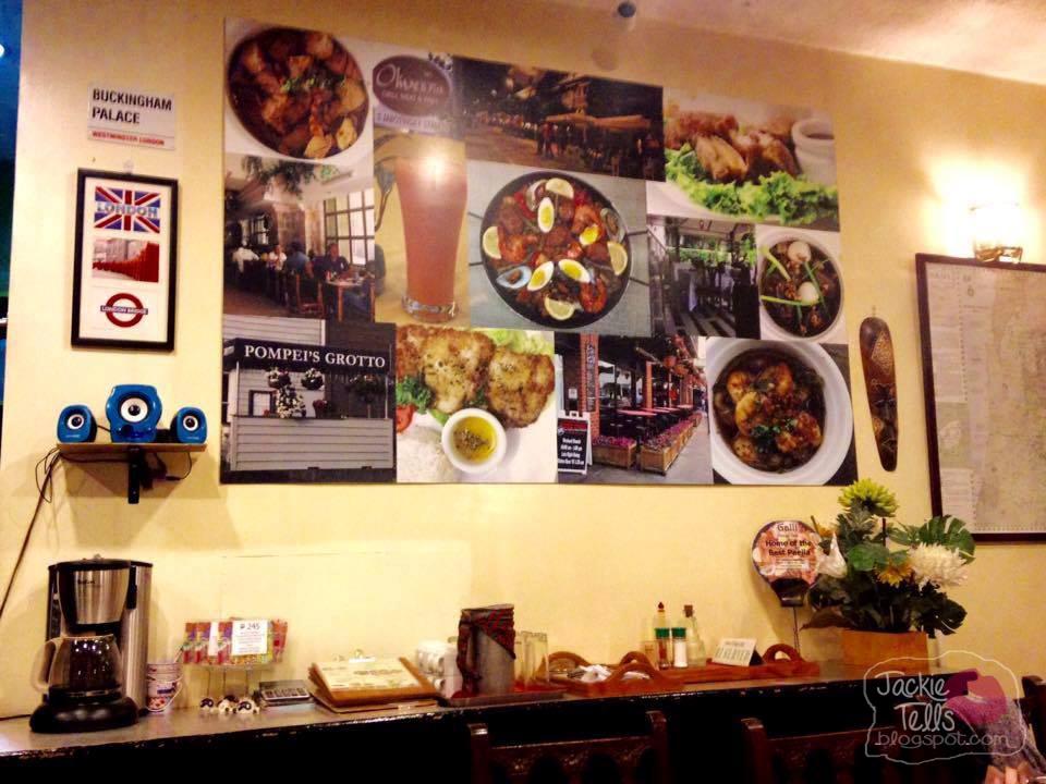 Galli Village Cafe Makati Map