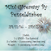Mini Giveaway By Penselduabee