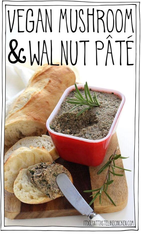 Vegan Mushroom & Walnut Pâté