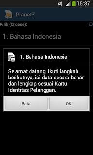 cara mengatasi hp android error data internet 3 minta registrasi terus