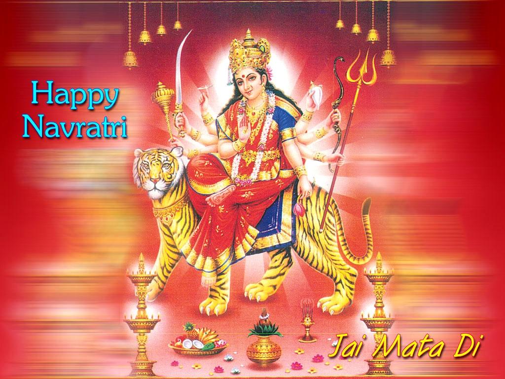 Jai Mata Di 3d Live Wallpaper Maa Durga Aarti Navratri Wallpaper Photos