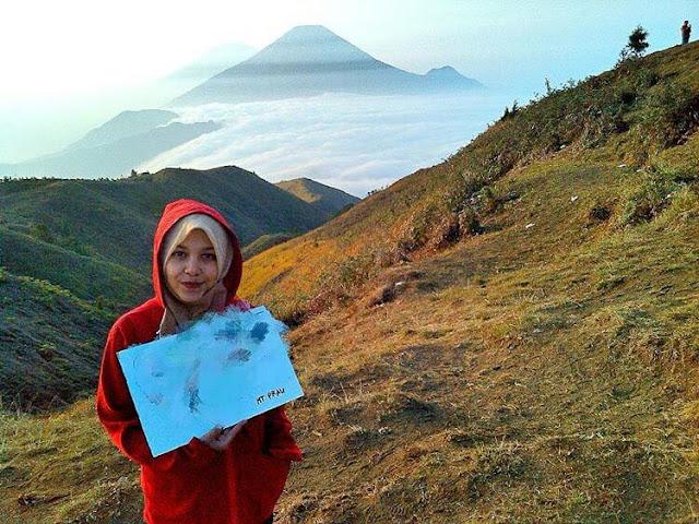 foto gunung prau jateng