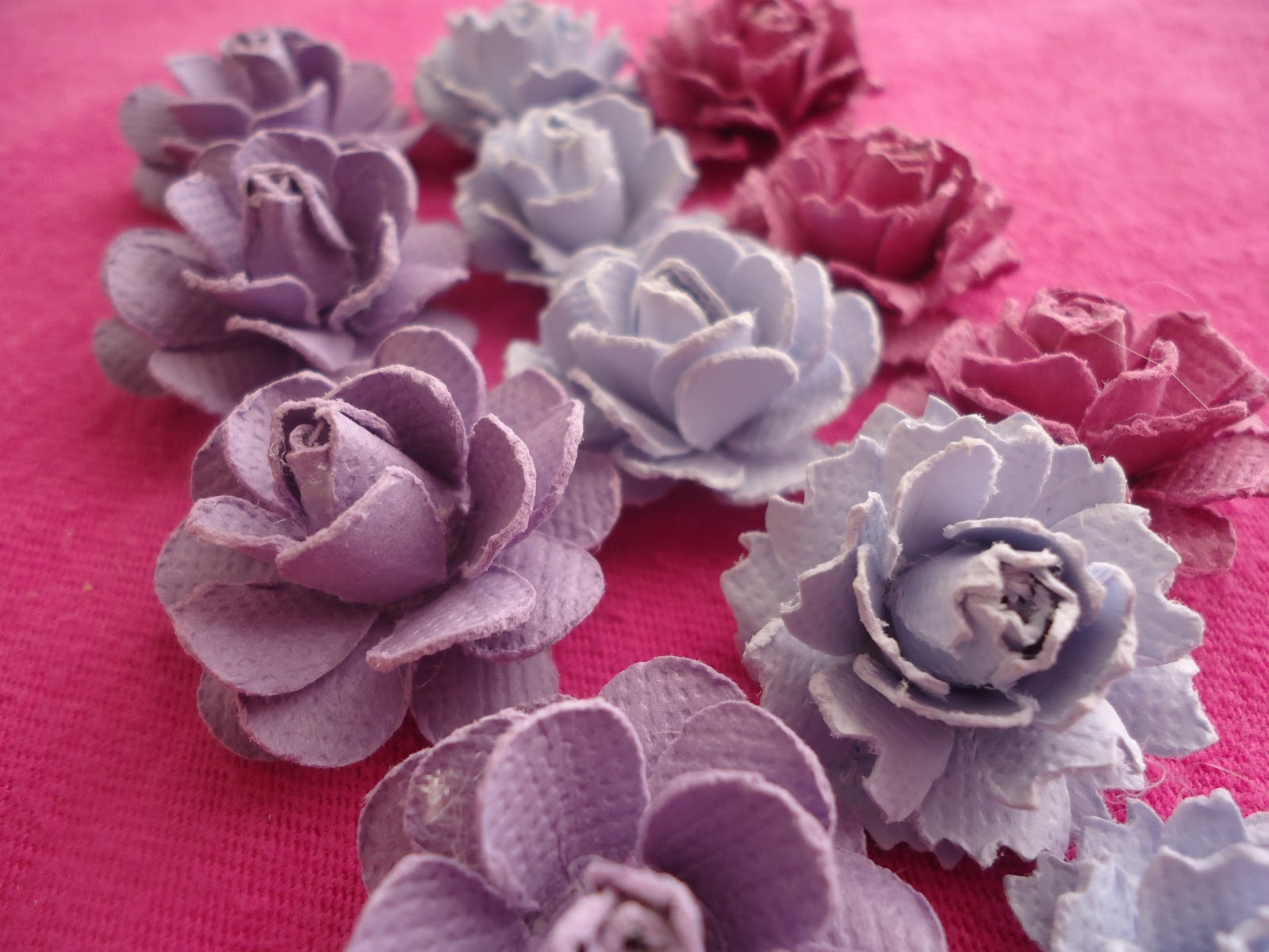 5 petal flower paper punch