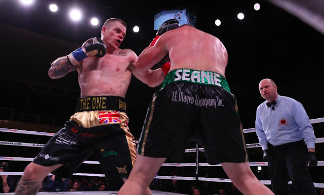 Callum Johnson Blasted Out  Seanie Monaghan