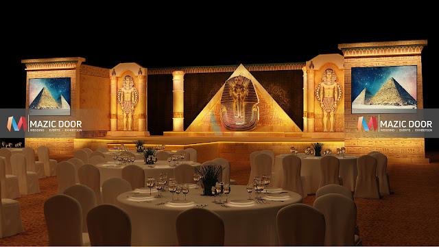 Egyptian Theme Stage Design 02