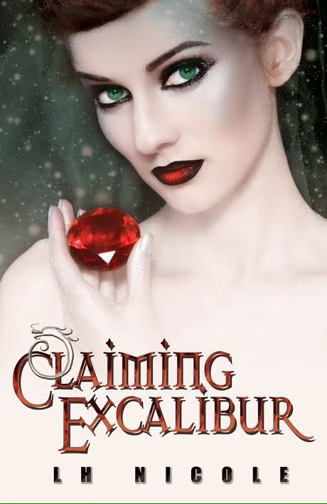 Cover Reveal * L.H. Nicole * Claiming Excalibur