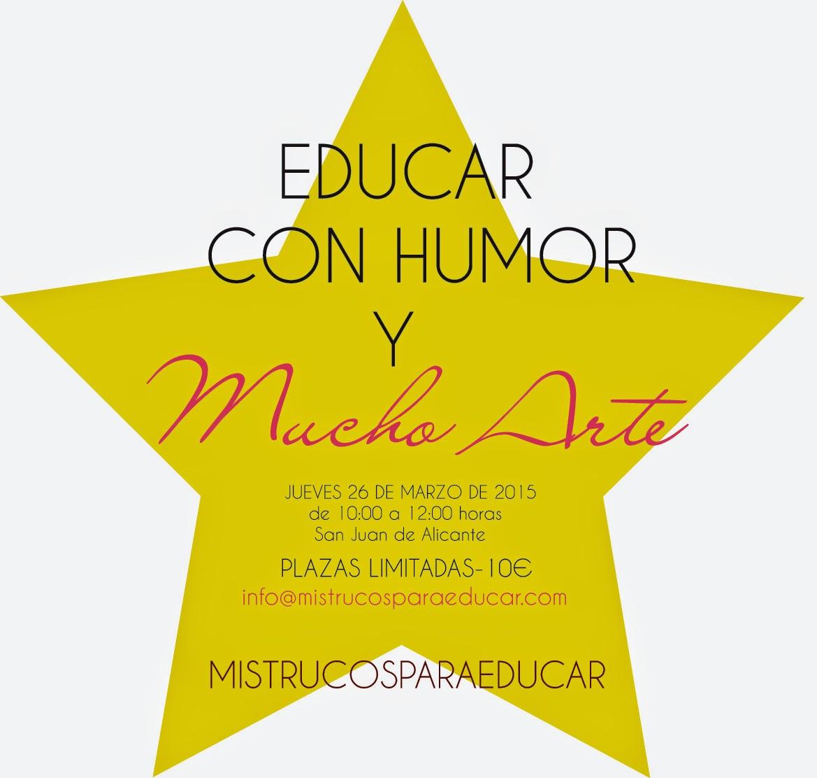 Educar con Humor y Mucho Arte