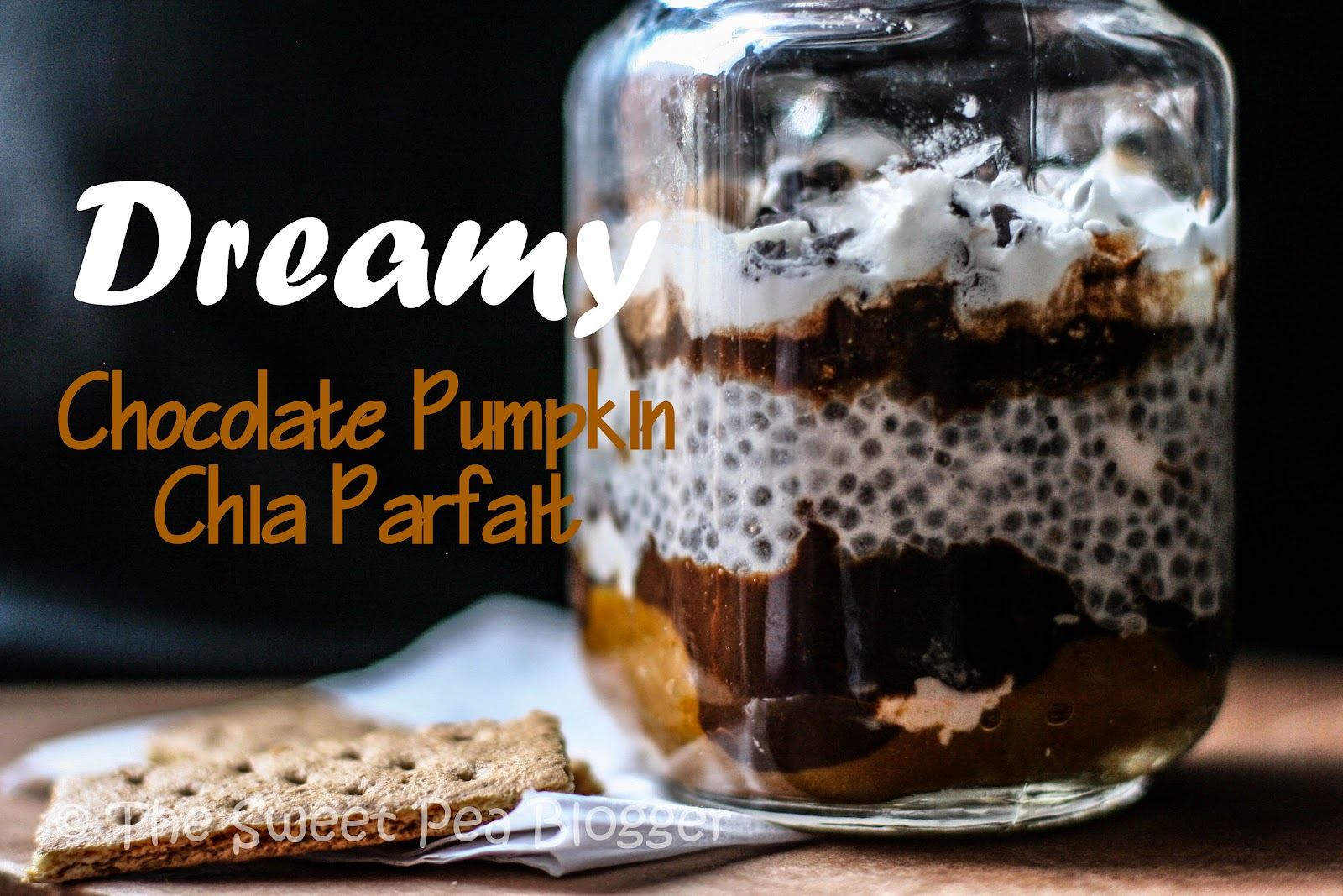Layered Chocolate Pumpkin Chia Parfait