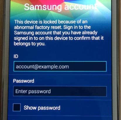 как установит пароль на самсунг андроид