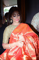 Shriya Saran Looks Stunning in Silk Saree at VRK Silk Showroom Launch Secundrabad ~  Exclusive 083.JPG