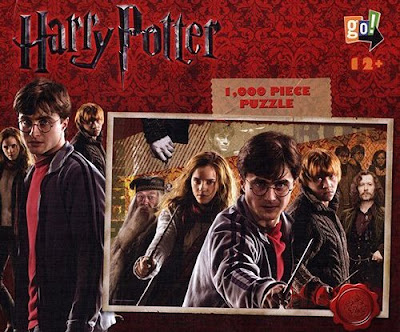 Harry Potter, Ron Weasley and Hermione Granger Jigsaw Puzzle