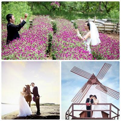 Một số góc chụp ảnh cưới đẹp ở bãi đá sông Hồng