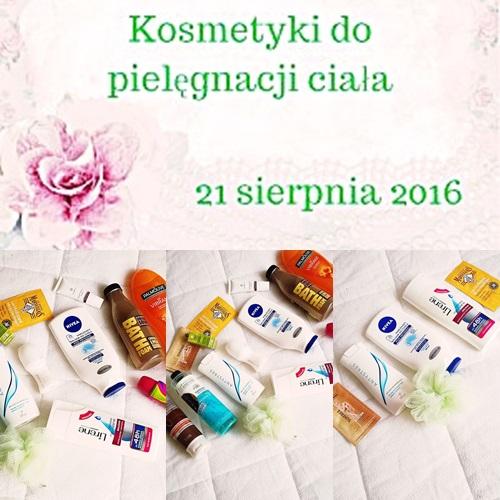 #123 OPRÓŻNIAMY KOSMETYCZKI – PIELĘGNACJA CIAŁA cz.3