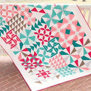free quilt along via Sew at Home Mummy Bella Skill Builder hosted by Fat Quarter Shop