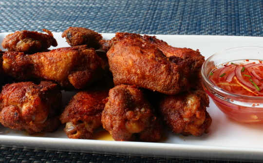 Food Wishes Video Recipes Chennai Chicken Wings A Football Snack