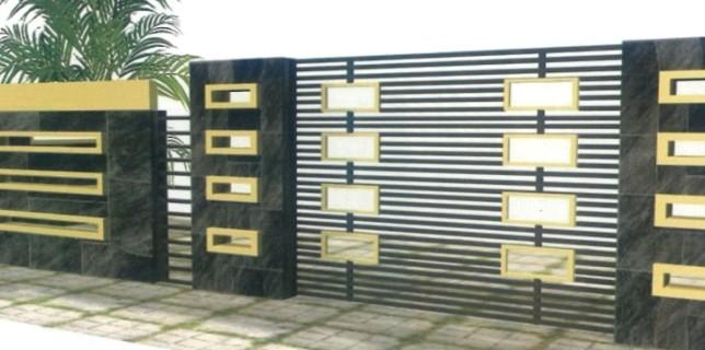 60 Desain Pagar Rumah Minimalis Paling Diminati Rumahku Unik