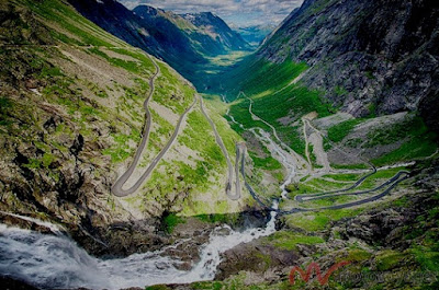 Trollstigen, jalan terunik di dunia