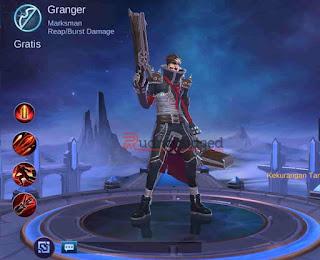 hero granger ml, hero yang rilis server global setelah esmeralda