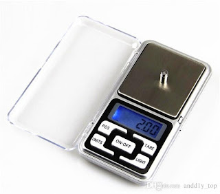 bilancia tascabile digitale mh-500 500g 0.1g on tenck