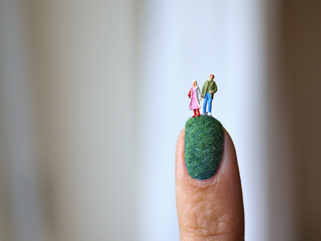 decoración de uñas muy inusual