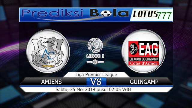 prediksi Amiens vs Guingamp Sabtu 25 Mei 2019  02:05