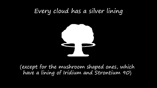 Funny Every Cloud Has A Silver Lining Picture Meme