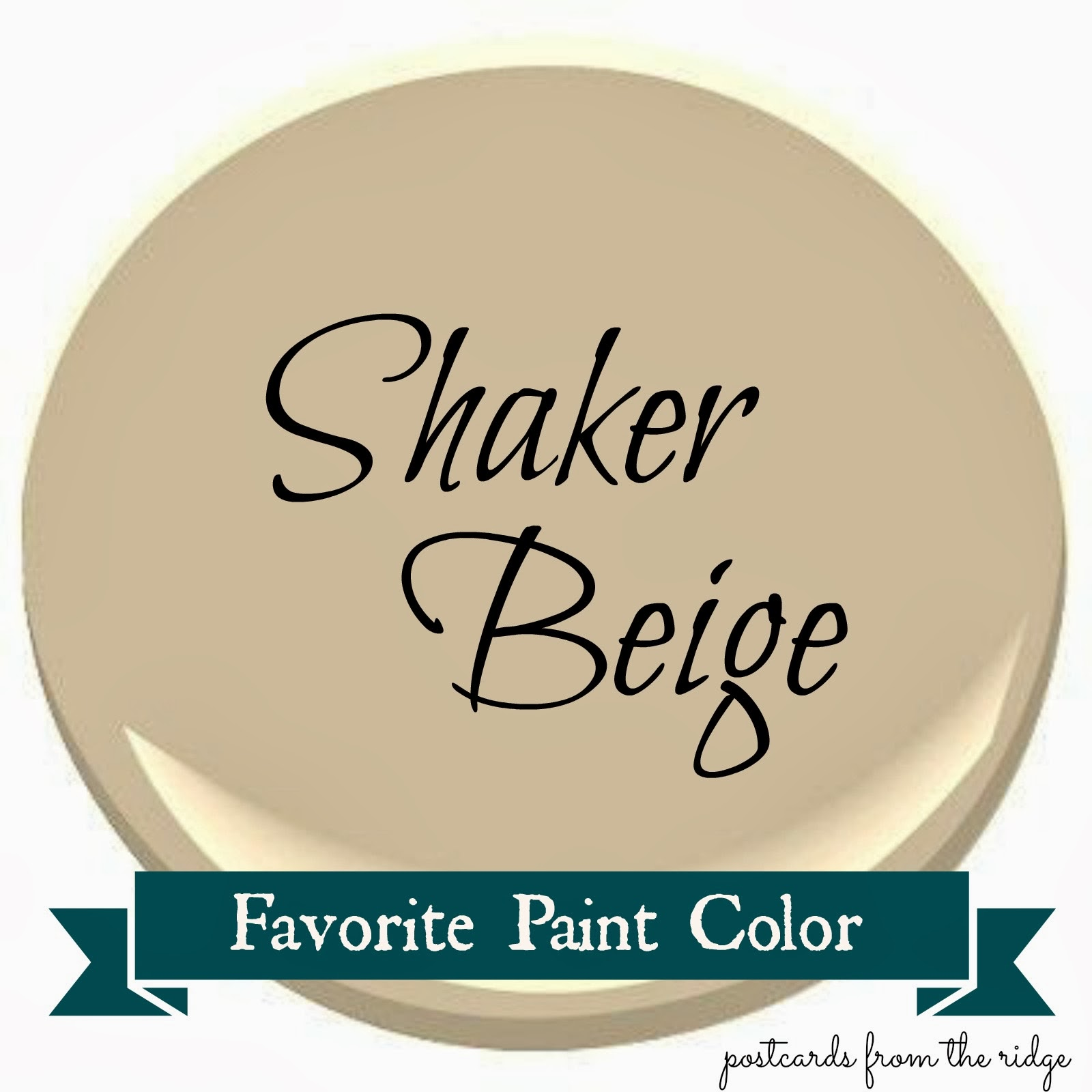 Benjamin moore shaker beige favorite paint color for Cream beige paint color