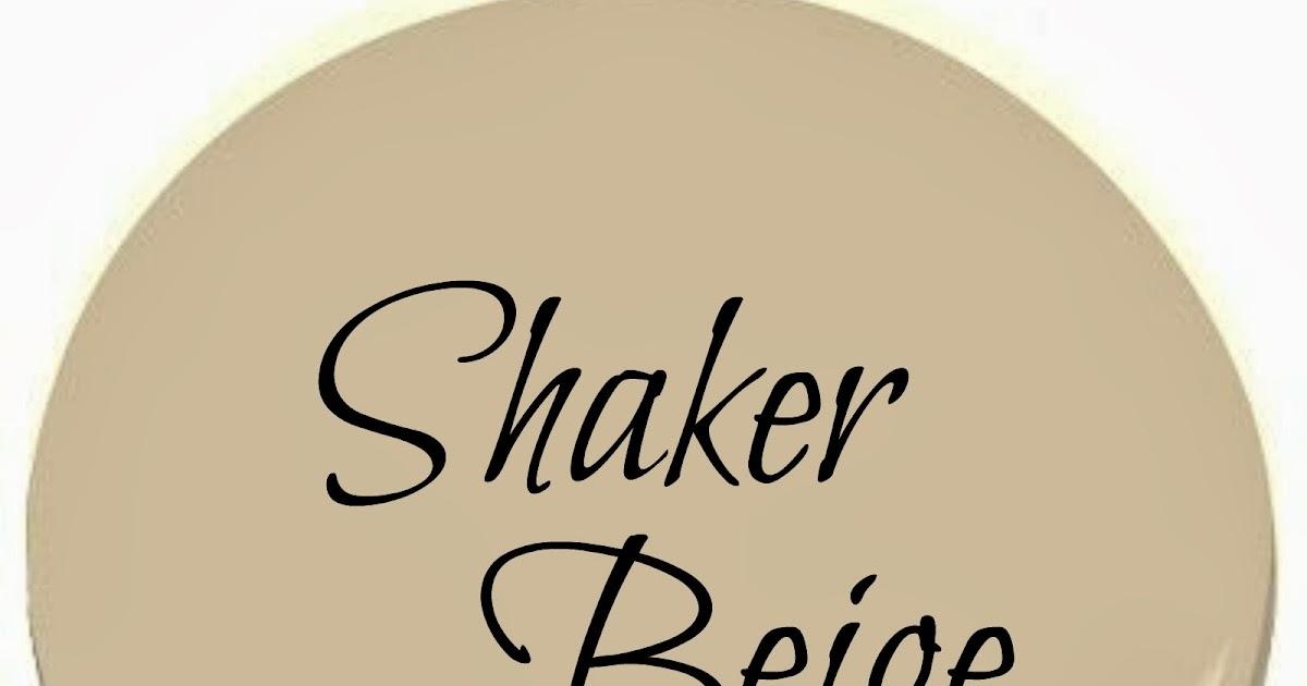 Benjamin Moore Shaker Beige ~ Favorite Paint Color | Postcards From The  Ridge