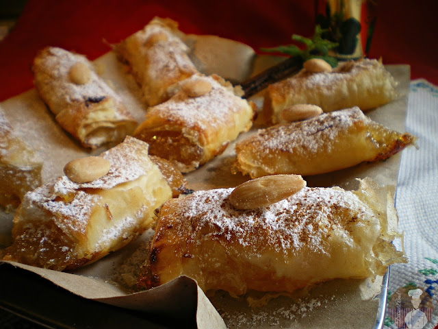 Delicias de ángel {Pastelitos crujientes con cidra}