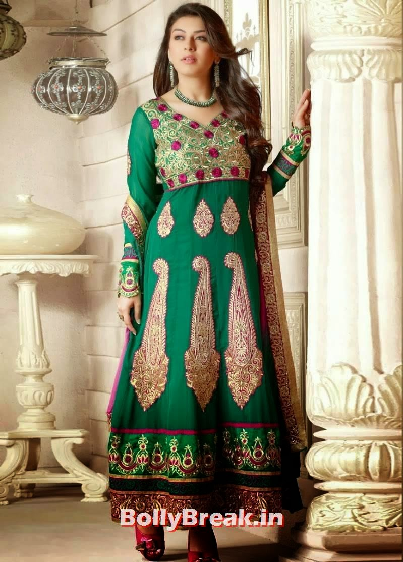 , Hansika Motwani Churidar Suit Photos, Hansika in Punjabi Salwar Kameez Hot Images