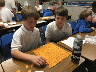 Montgomery Catholic 6th Graders Celebrate Square Root Day April 4, 2016 1