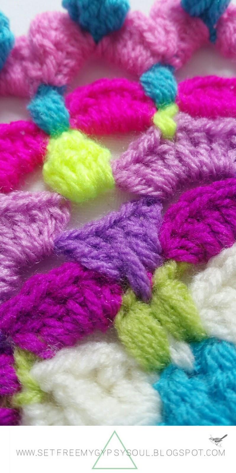 free mandala crochet pattern doily doilie boho hippie flower peggy