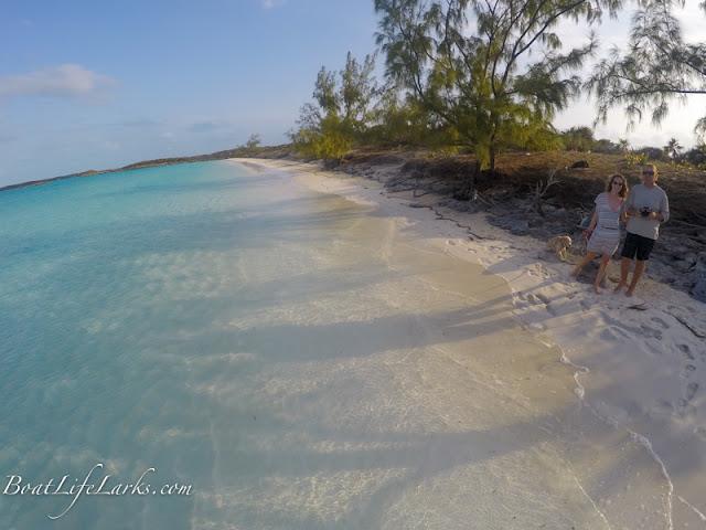Moss Cay beach, Exumas, Bahamas
