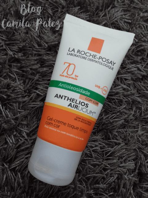 Protetor solar com cor Anthelios Airlicium