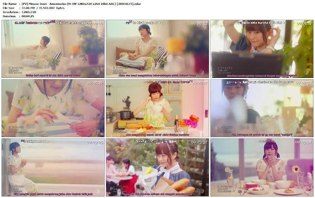 Download Minase Inori – Aimaimoko [PV]+[KARA]