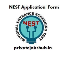 NEST Application Form