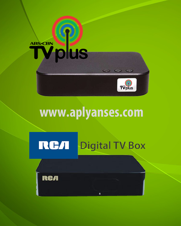 Comparison Between RCA Digital TV Box and ABS-CBN TV Plus – English Version