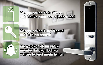Pasang Hotellock HL-800 T Jogja Magelang Salatiga Temanggung