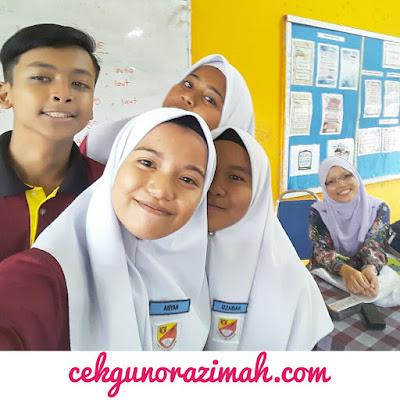 cerita cikgu, welfie bersama pelajar
