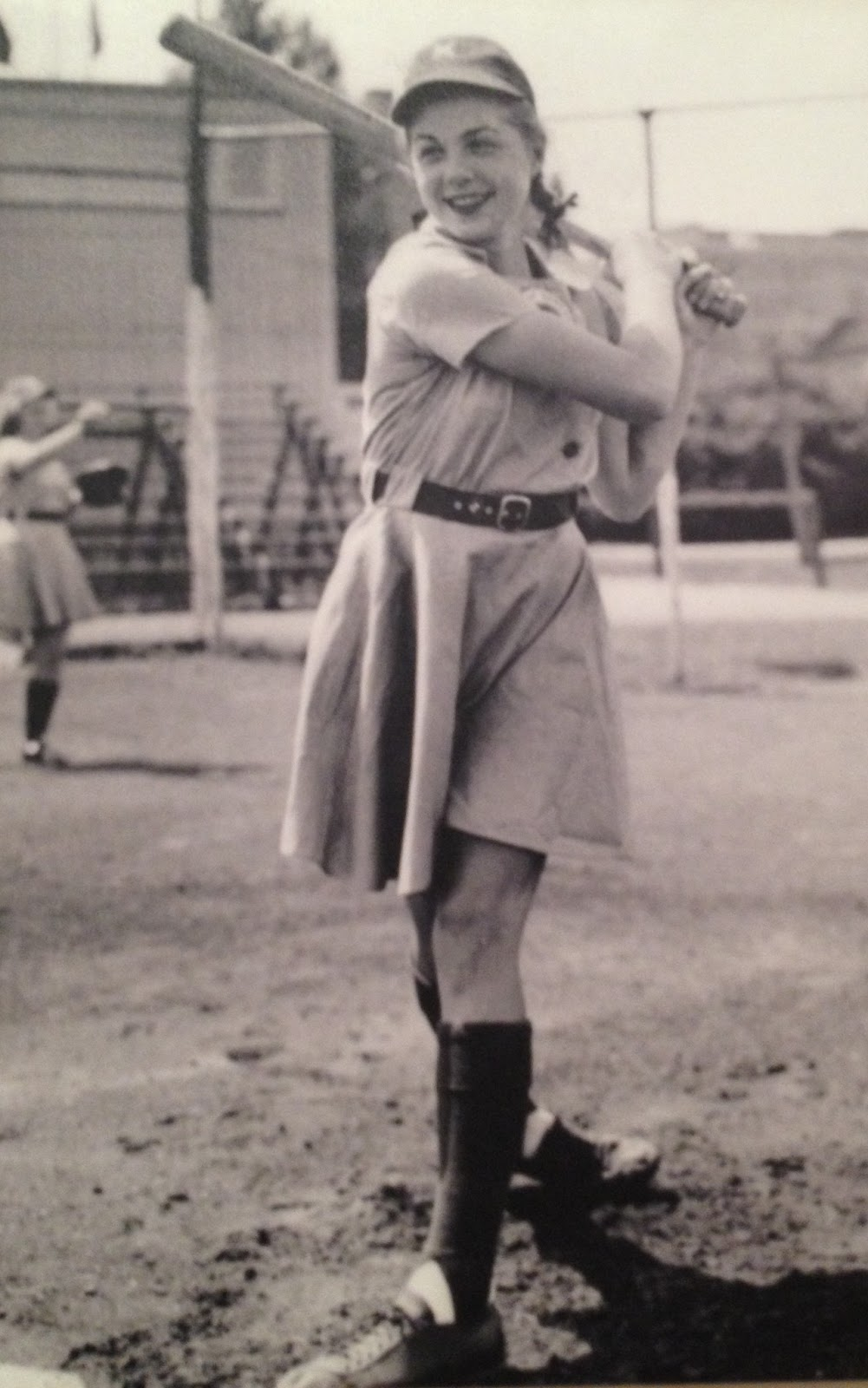 All The Girls Standing In The Line For The Bathroom: Old Photos Of All-American Girls Professional Baseball