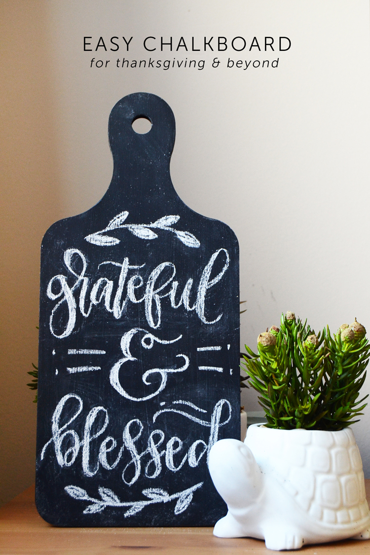 easy chalkboard art at mod podge rocks blog