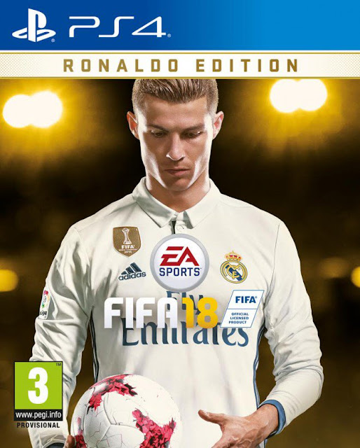 FIFA18-Ronaldo-fotbal-joc-PS4