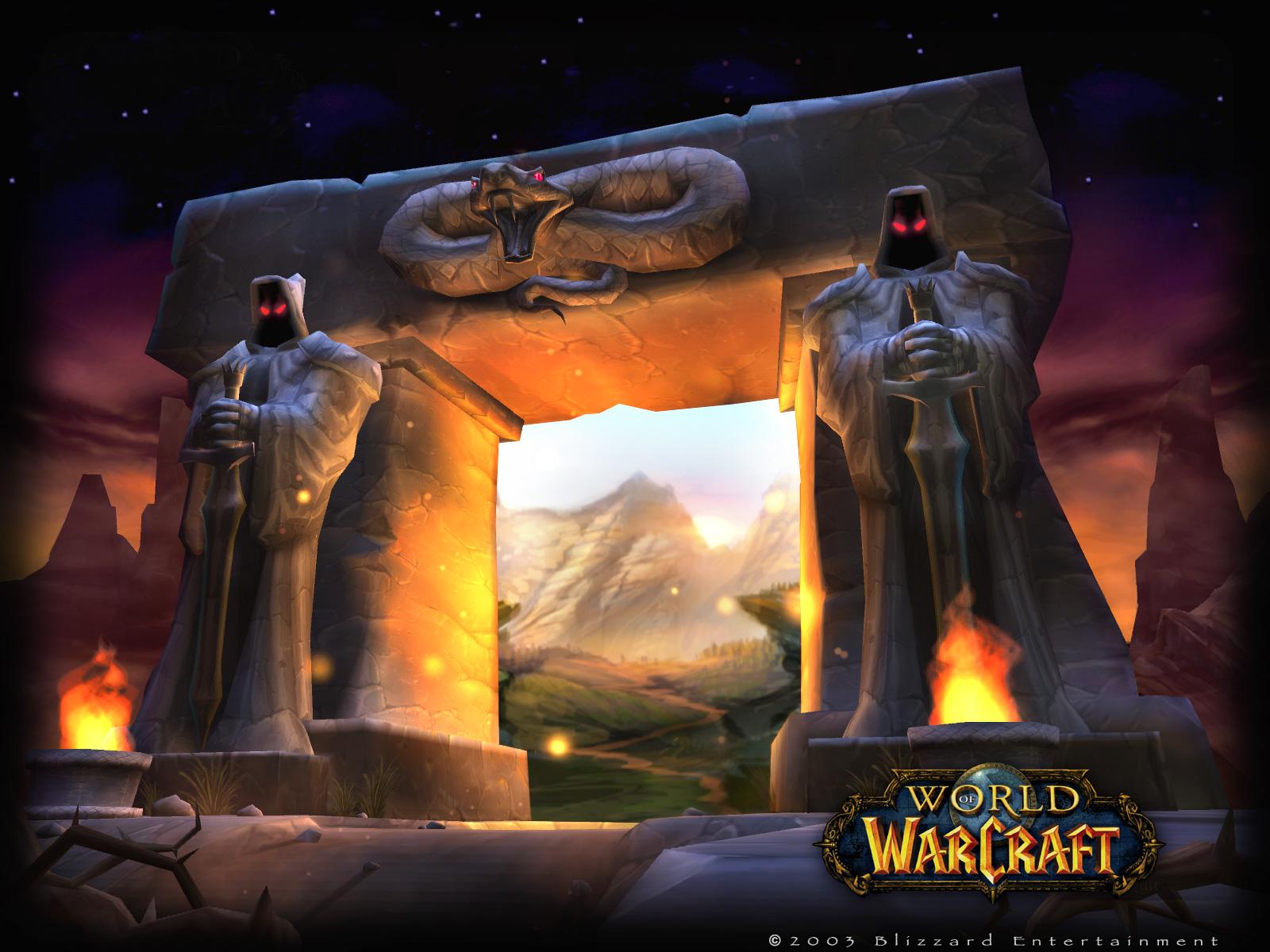 World Of Warcraft The Dark Portal Uhd 4k Wallpaper: Best Desktop HD Wallpapers: World Of