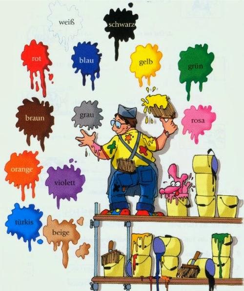 ngjyrat-gjermanisht Gjuha gjermane me foto - 15