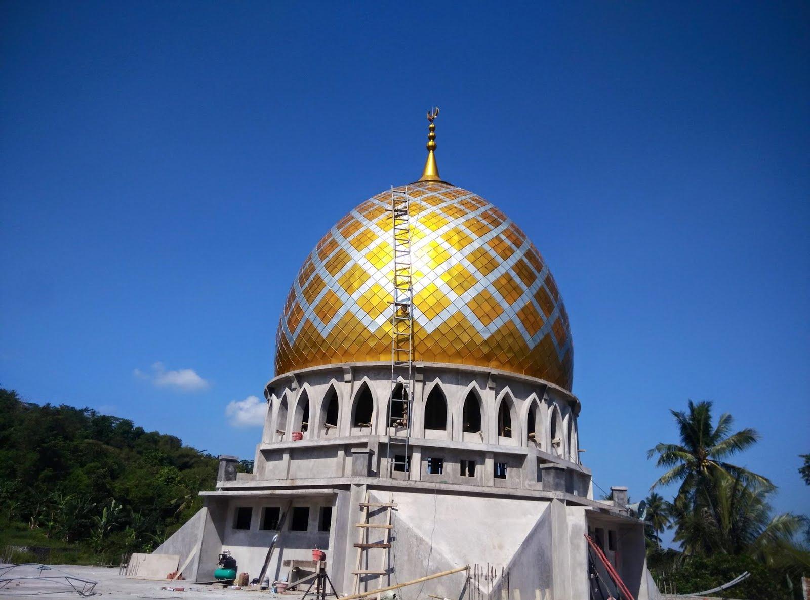 Kubah Masjid Dibuat Bulan dan Bintang, Ternyata Sumbernya
